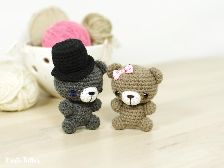 How to start with amigurumi (With images) | Crochet teddy bear ... | 563x750