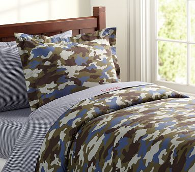 Camo Duvet Cover Potterybarnkids Camo Bedding Baby Furniture Bed Gifts