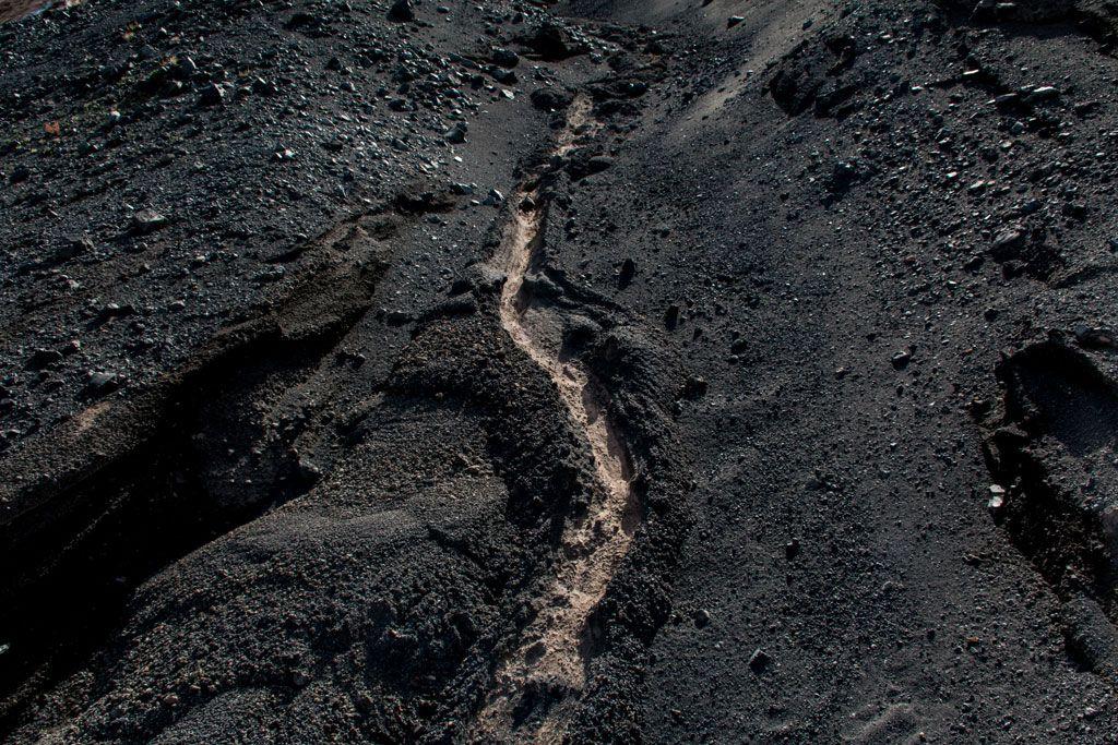 Vulcano - Composition pour bruits de pas sur un Volcan