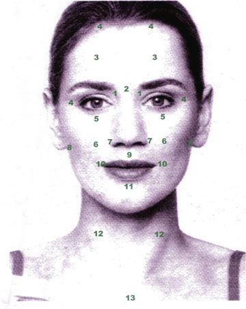 Diy facial acupressure beauty pinterest diy facial acupressure solutioingenieria Image collections