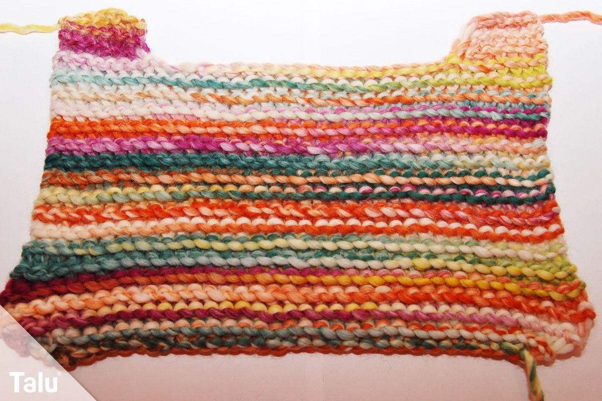 Photo of Knit vest – free tutorial for beginners – Talu.de