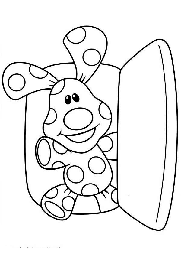 Blues Clues Came Out From Refrigerator Coloring Page Coloring Sun In 2020 Coloring Pages Coloring Pictures Blues Clues