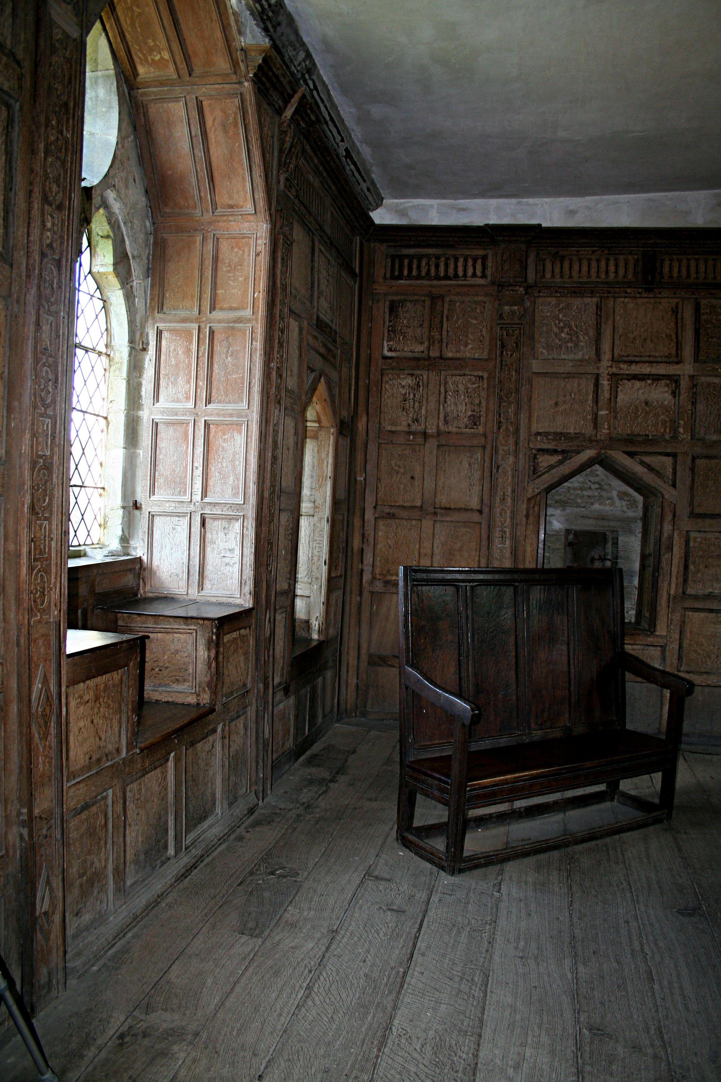 stokesay castle interior 17gothicbohemianstock   brown