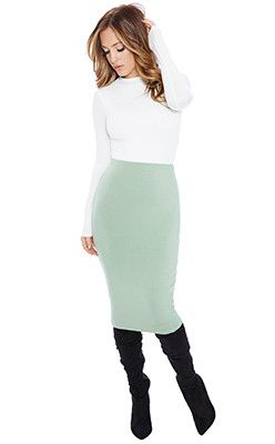 It's Mint To Be Skirt