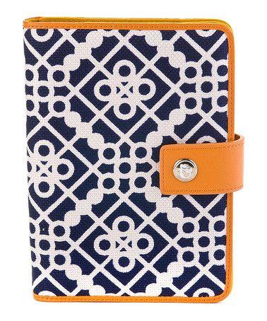 Look at this #zulilyfind! Navy & Orange Sailor's Watch Mini Case for iPad by Spartina 449 #zulilyfinds