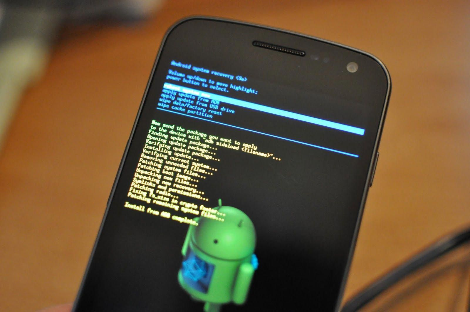 How To Get Out Of Android System Recovery 3e