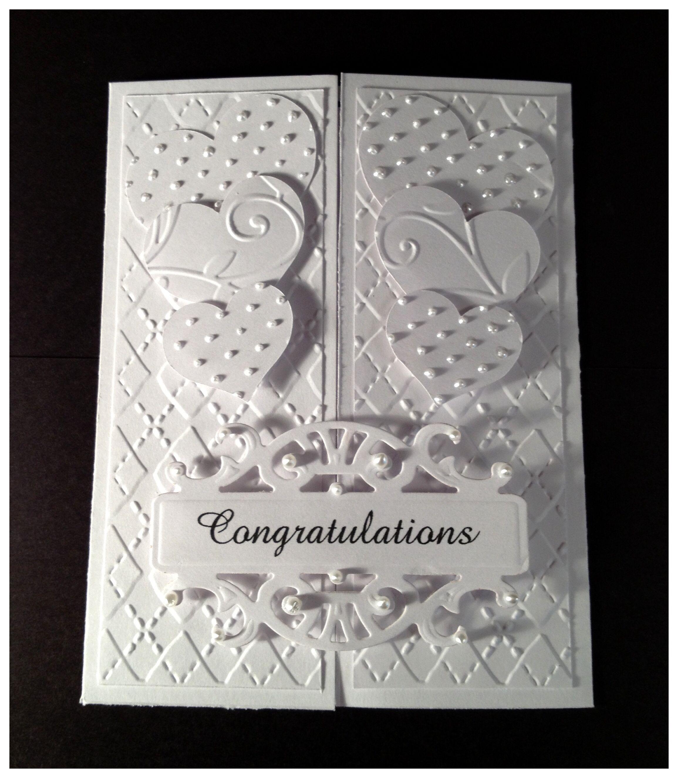 Wedding Anniversary Handmade Card