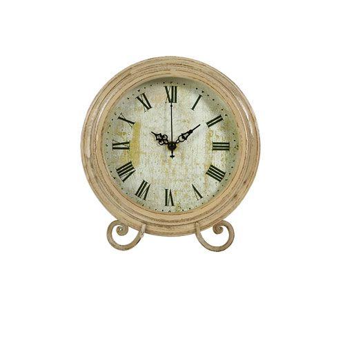 Small Avignon Wood Clock Clock Decor Wood Clocks Desk Clock