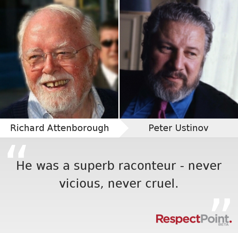 #RespectPeterUstinov