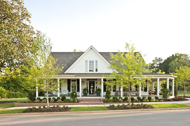 Check Out The August 2012 Issue Of Southern Livingu2026Idea House Open For  Tours In Senoia, Georgia, House Plan: Farmhouse Revival, Check Out The  August 2012 ...