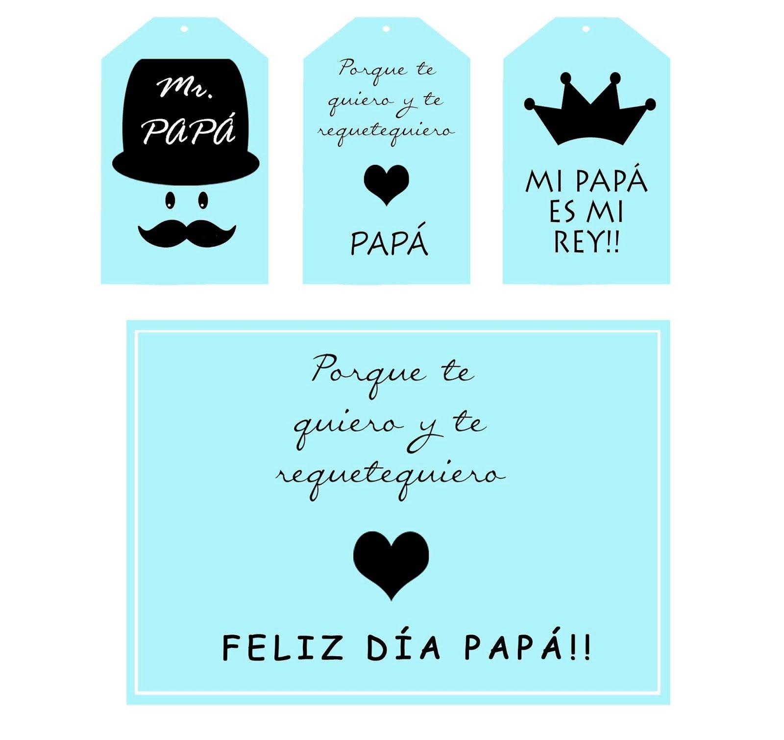 Kit Imprimible Dia Del Padre Feliz Dia Del Padre Dia Del Padre