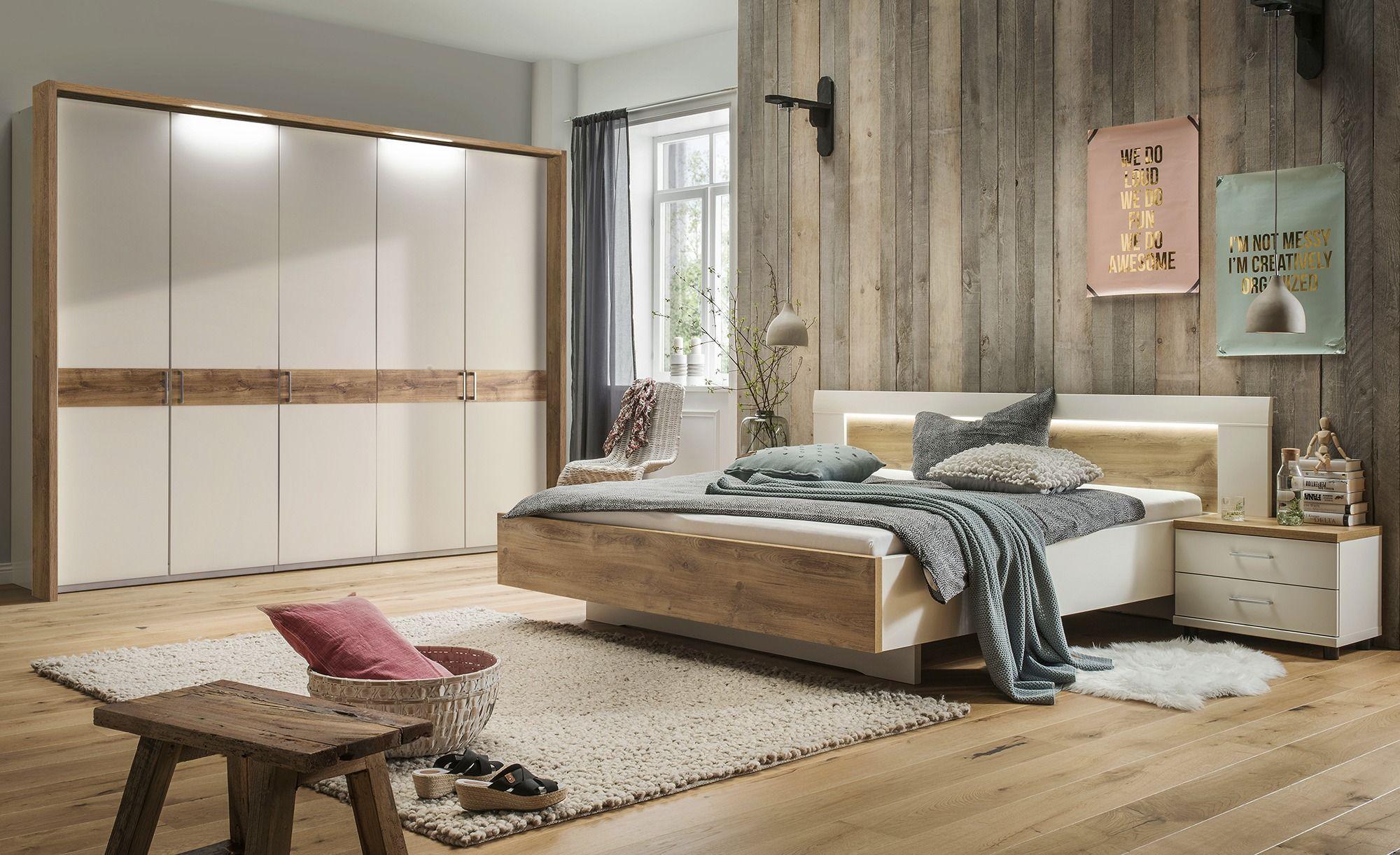 uno KomplettSchlafzimmer 4teilig weiß Komplett