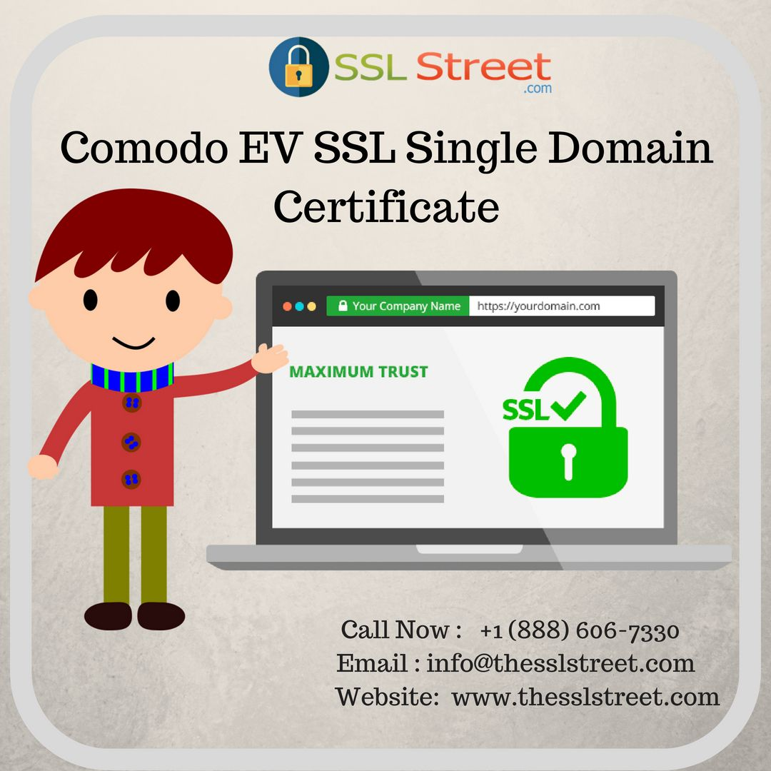Get Comodo Ev Ssl Certificate Now Ev Ssl Single Domain Certificate