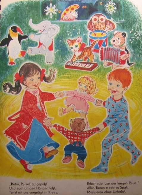 Ein Weihnachtsmärchen - Bilderbuch 60iger