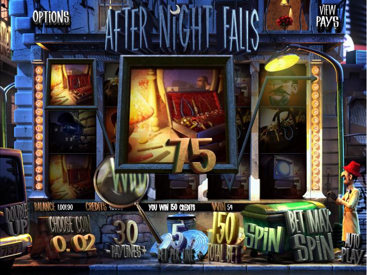 After Night Falls Slot Machine