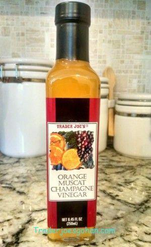 トレーダージョーズのオレンジ マスカット シャンパン ビネガー Trader Joe's Orange Muscat Champagne Vinegar