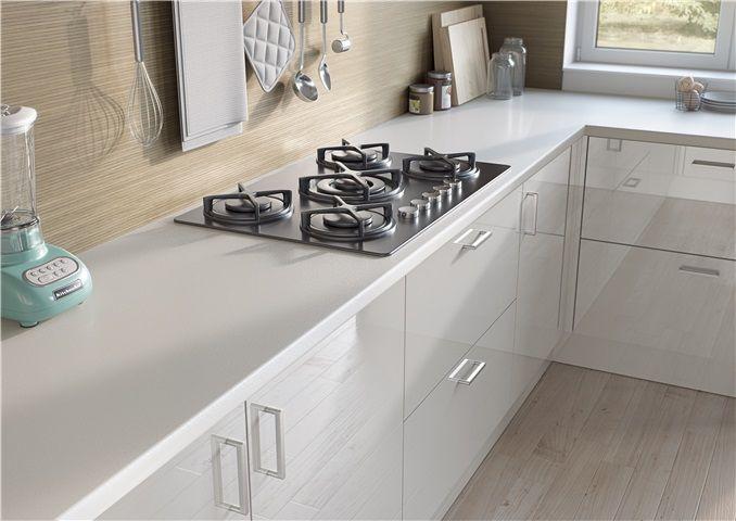 Egger Kitchen Worktop W1000 St89 Premium White A White