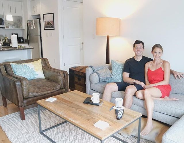 Nice Get The Deets Of How Mike And Courtney Decorated Their First Apartment As A  Couple 🏣