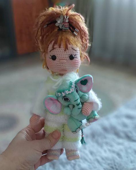 Amigurumi Doll İnnocent Baby Free Crochet Pattern – Örgü Modelleri – BuzzTMZ #amigurumidoll