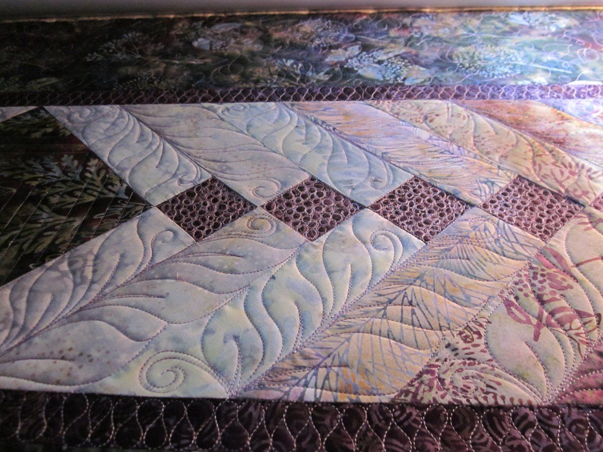 Divine Quilting: Ann's French braid | longarm quilting | Pinterest ... : french braid quilt free pattern - Adamdwight.com