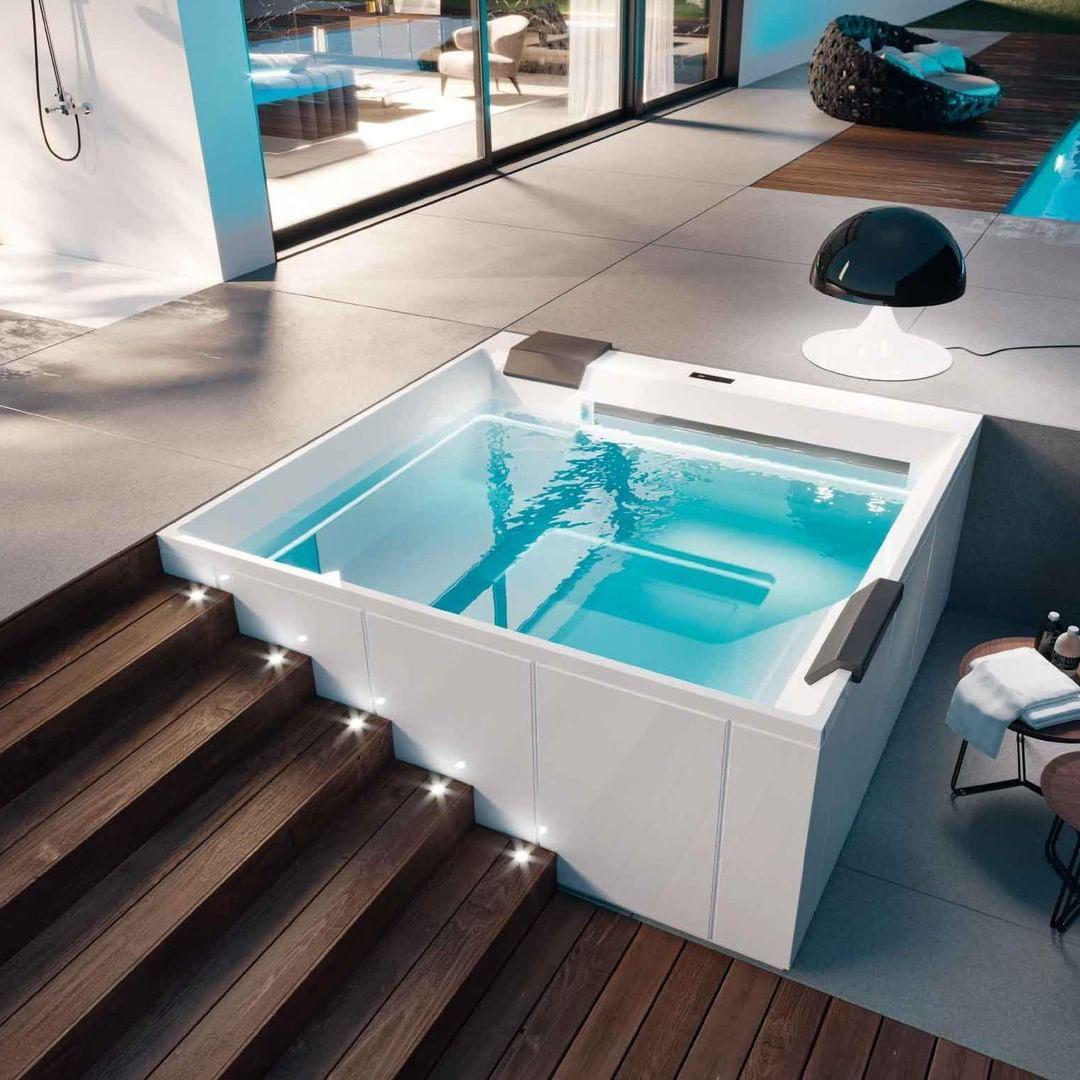 Treesse On Instagram Wave Design Marc Sadler Popular Kitchen Designs Deck Designs Backyard Spa Tub