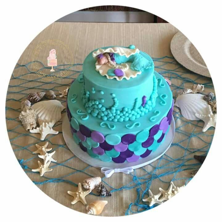 Mermaid Baby Shower Cake U2026