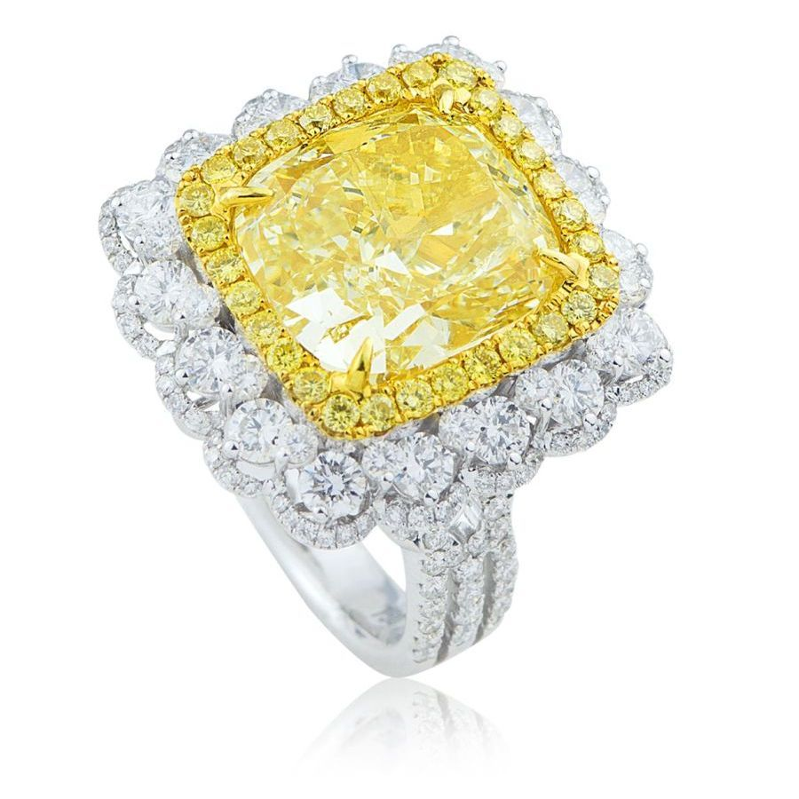 Jewelry Gallery Yellow Engagement Rings Yellow Diamond Engagement Ring Yellow Diamond