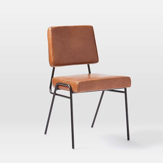 Wire Frame Leather Dining Chair Dining New In 2019