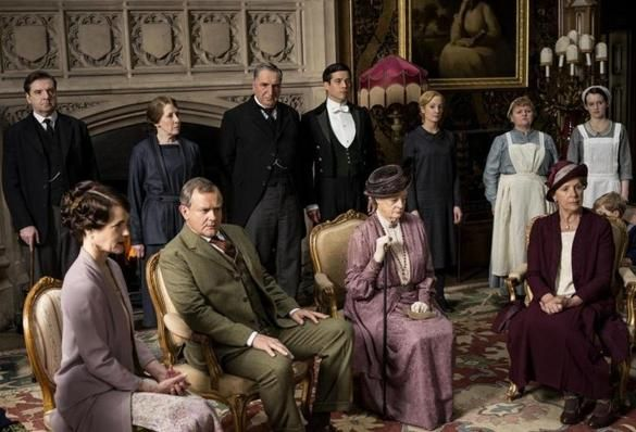 """""""Downton Abbey"""" is a big, fat, juicy soap opera — a """"story"""" — and you know what? That's OK. If it's not the high-minded drama promised by season one, so be it. We can still love it in all its tastefully torrid glory."""