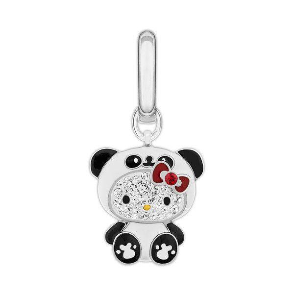Swarovski Hello Kitty Panda Charm, Swarovski Hello Kitty Charm