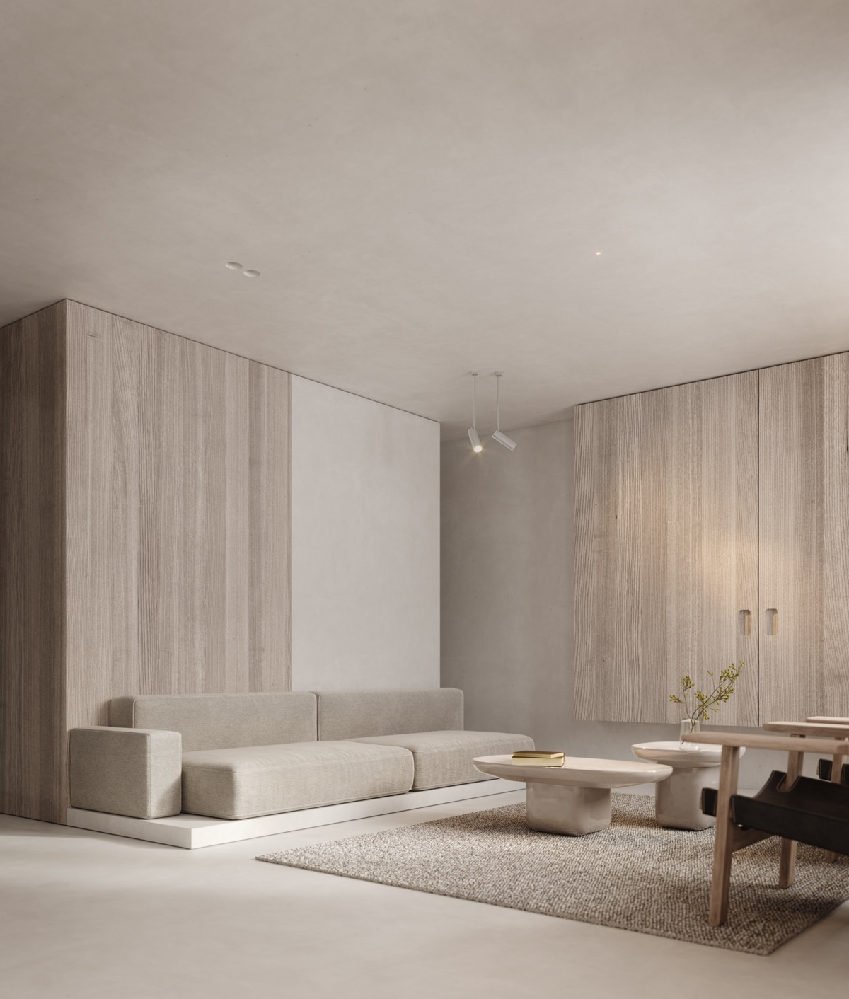 Neutral Modern Minimalist Interior Design 4 Examples That Masterfully Show Us How Modern Minimalist Interior Minimalist Home Interior Minimalism Interior