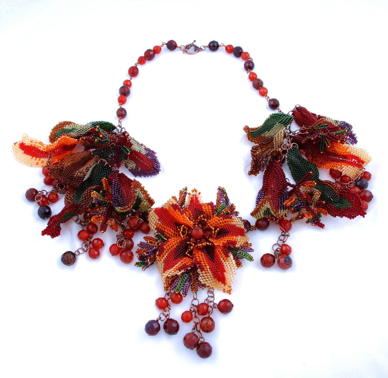 Amazing beaded jewelry by Marina Nosova | Beads Magic