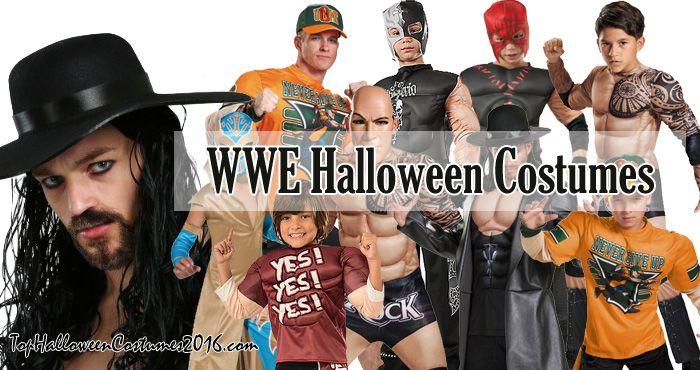 WWE Halloween Costumes John Cena The Rock Undertaker Kane Daniel Bryan  sc 1 st  Pinterest & WWE Halloween Costumes: John Cena The Rock Undertaker Kane ...