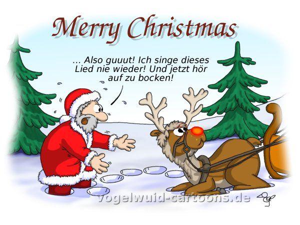 Nikolaus lustige bilder vogelwuid cartoons witzige for Digitale weihnachtskarten gratis