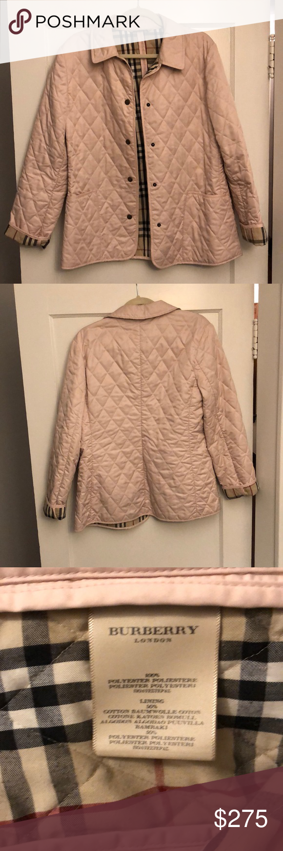 Burberry Quilted Jacket With Images Burberry Quilted Jacket Quilted Jacket Jackets