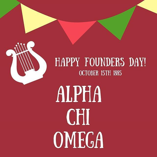 Happy Founders Day To Alphachiomegahq Congratulations On 133