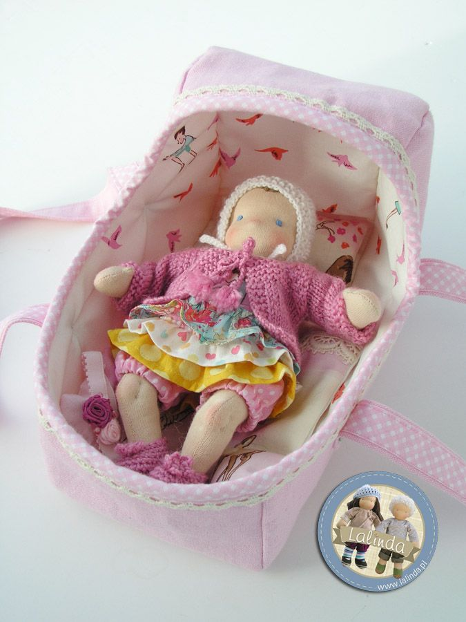 8 inch baby doll by Lalinda.pl