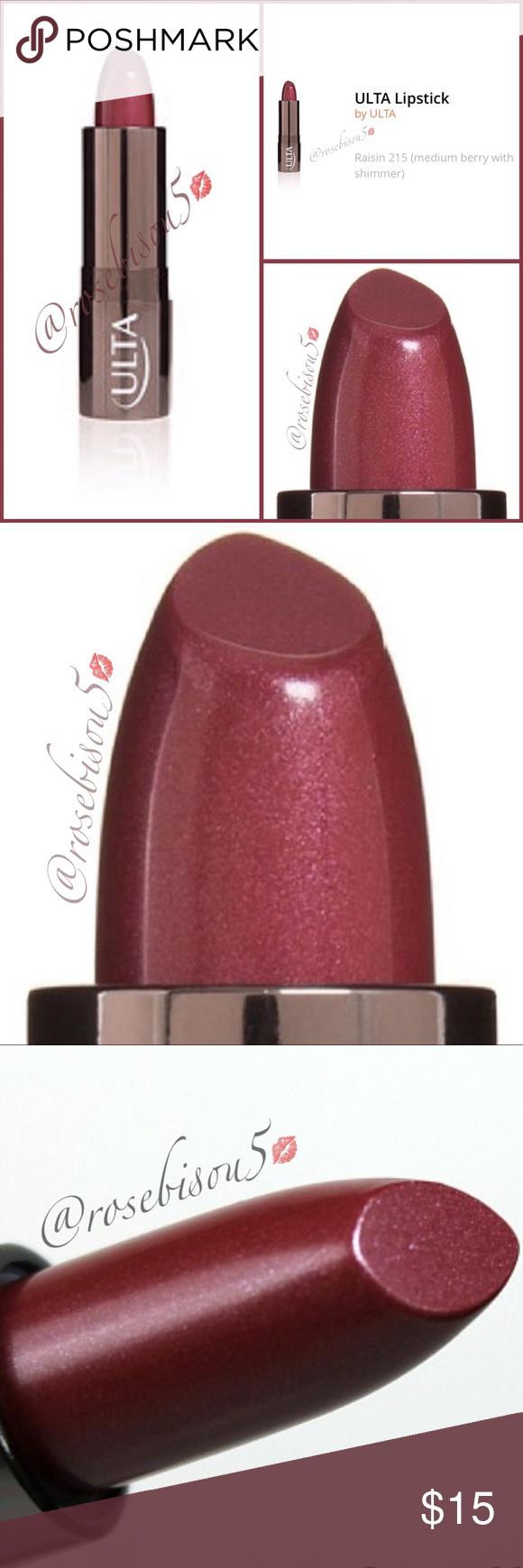 Ulta RAISIN 215 Lipstick (Retired, Ltd.) Ulta lipstick