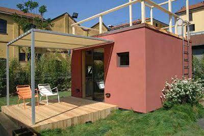 離れやガレージとして コンテナハウス ハウス 小屋作り