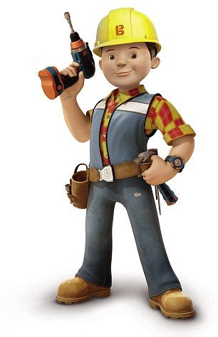 The New Bob Has Been Fitted With Hi Vis Strips Bob The Builder Bob The Builder Cake Business Cartoons