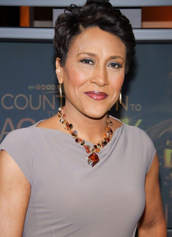 Robin Roberts Short Haircut For Women Over 50 Short Hairstyles