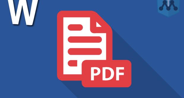 Cara Membuat File Pdf Dengan Menambah Ekstensi Pdf Di Microsoft Office Word Info Menarik Microsoft