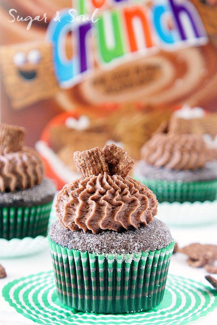 Chocolate cinnamon toast crunch cupcakes sugar soul