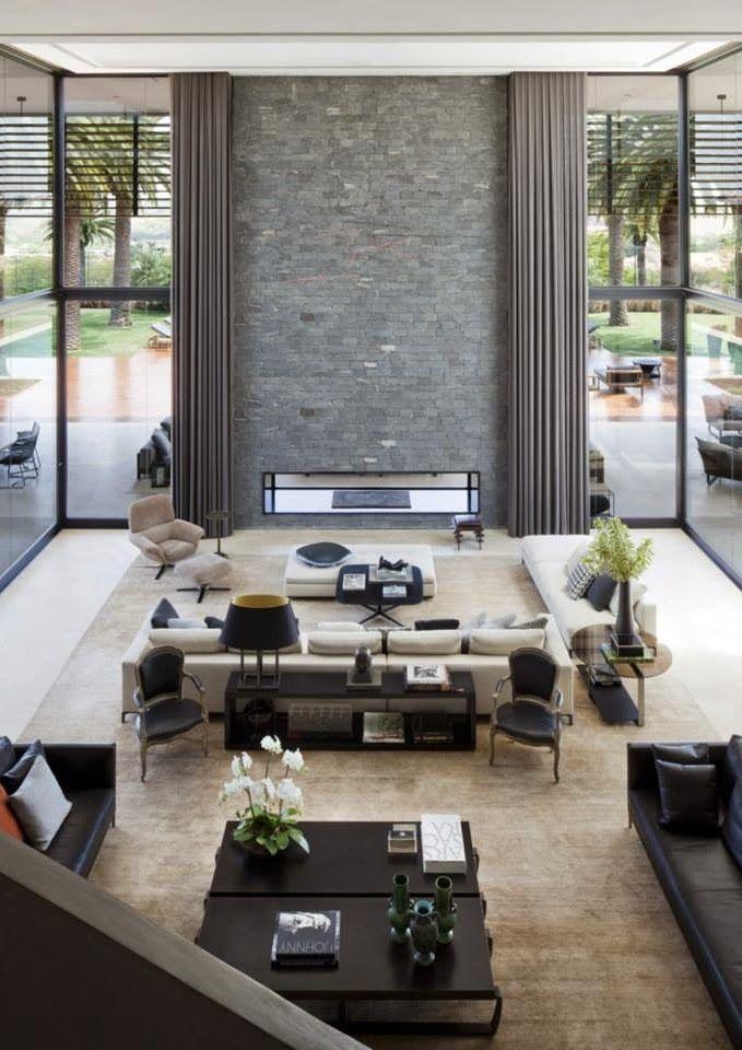 Interieur I Minotti Villa Minimalist Living Room Modern House