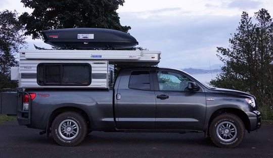 Off The Beat And On The Road Truck Camper Pop Up Truck Campers