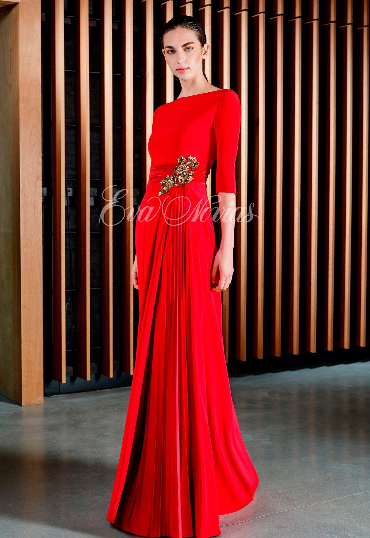 68725f3daa Tienda de vestidos de fiesta y madrina en Madrid de la firma Patricia  Avendaño colección 2017 modelo 3063 en Eva Novias C  Goya. 84 T. 914359458