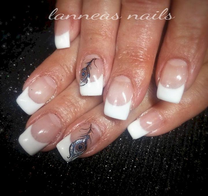 18 Feather Nail Art Designs That Look Amazing. I Can\'t Believe How ...