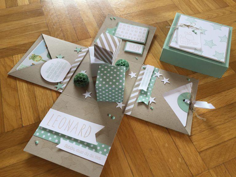 Magische geschenkbox basteln