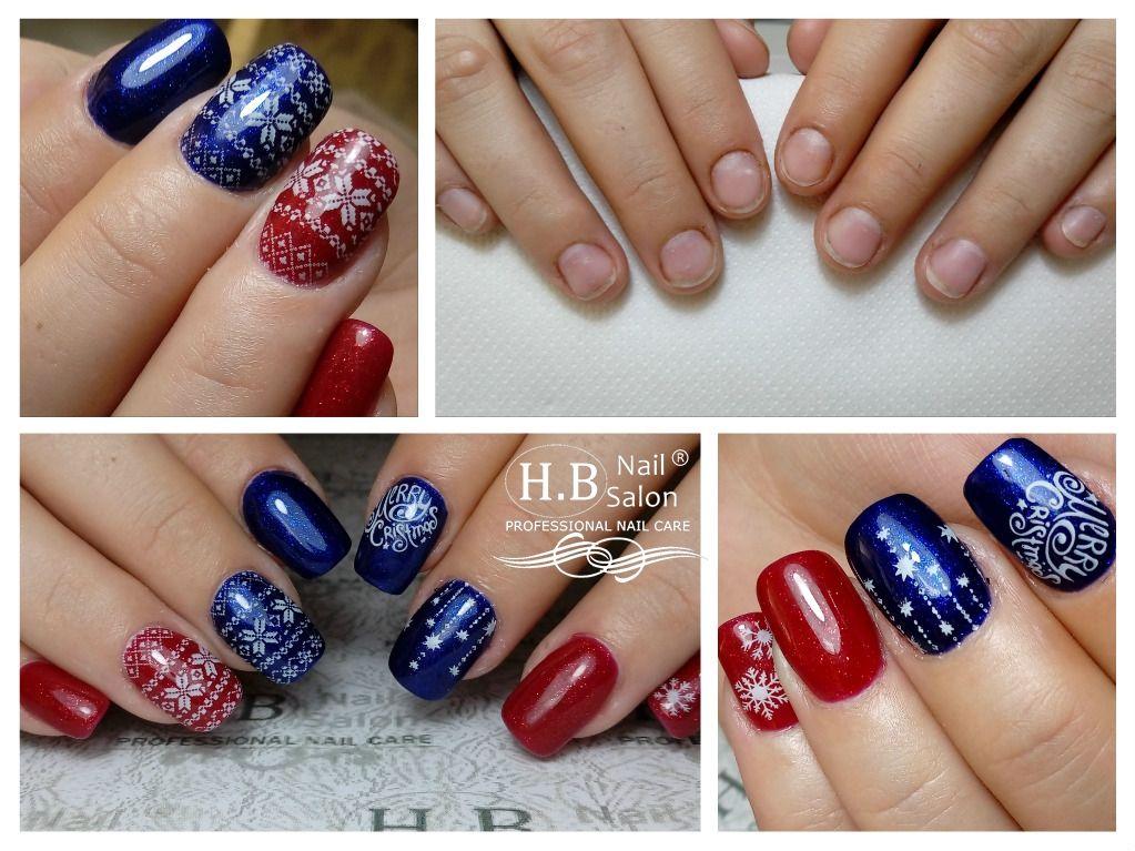 Christmas Nails Blue Nails Red Nails Christmas Nails Nails Red