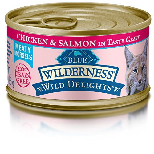 Blue Buffalo Wilderness High Protein Flaked Wet Cat Food Canned Cat Food Cat Food Brands Grain Free Cat Food